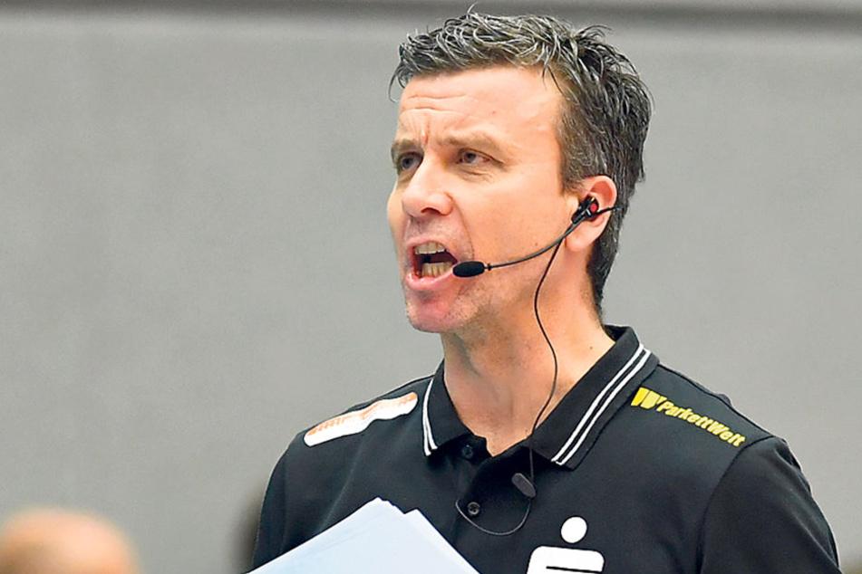 Sonntag schaut DSC-Chefcoach Alex Waibl hoffentlich zufriedener drein.