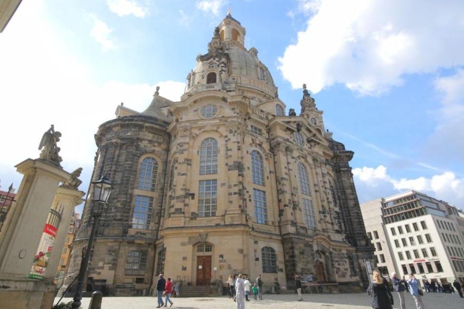 Die Frauenkirche wurde Ziel eines Anschlags.
