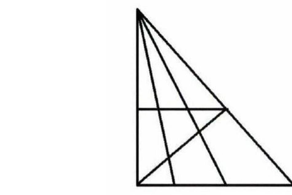 Dreiecks-Irrsinn: An diesem Rätsel haben alle zu knabbern