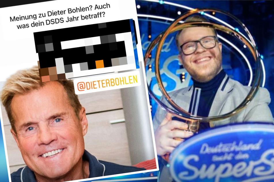 Das hält DSDS-Gewinner Jan-Marten vom ehemaligen Chef-Juror Dieter Bohlen