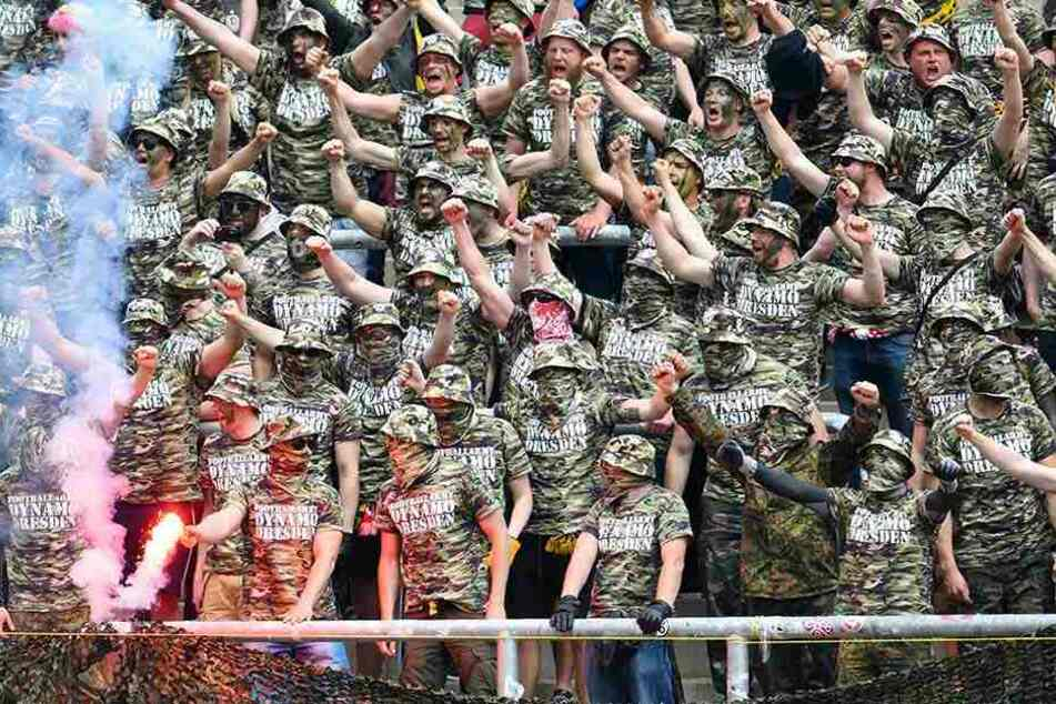 Der Army-Auftritt der Dynamofans in Karlsruhe wirkt bis heute in Baden-Württemberg nach.