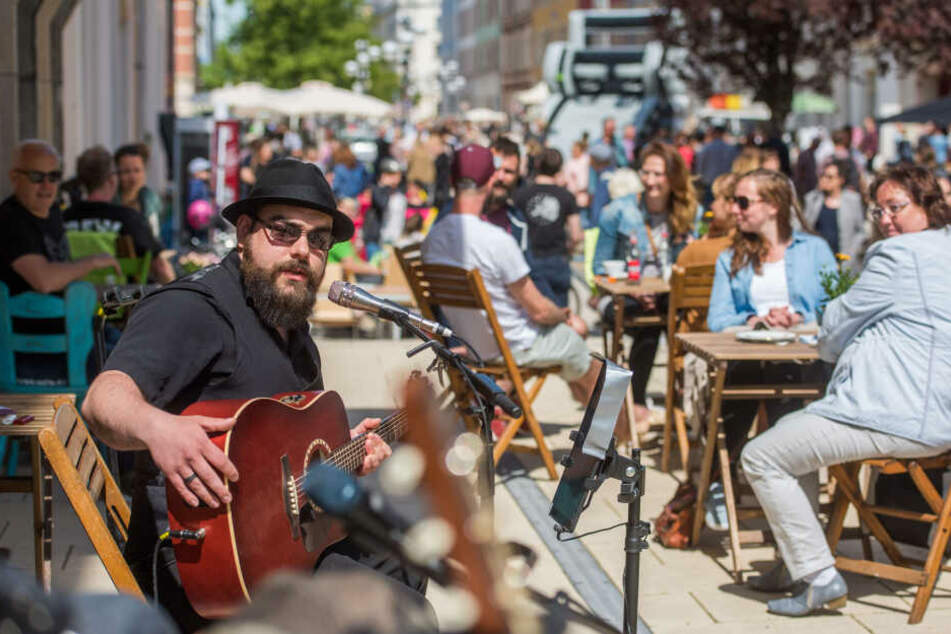 Chemnitz: Chemnitzer Musikmeile braucht noch 3000 Euro