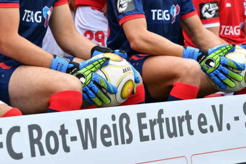 Rot-Weiß Erfurt musste den Spielbetrieb in der Regionalliga einstellen.