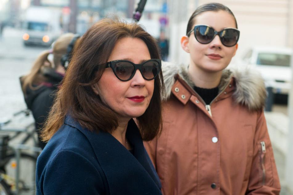 Nathalie Volk unterstützte ihre Mutter beim Gang vor Gericht. (Archivbild)