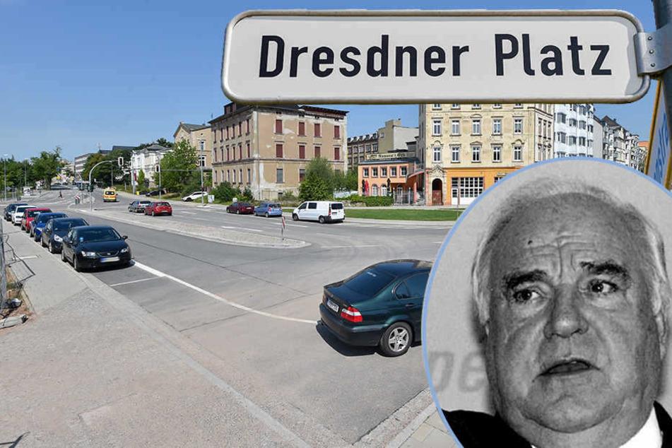 Trotz Frauenquote! Chemnitz soll Helmut-Kohl-Platz bekommen