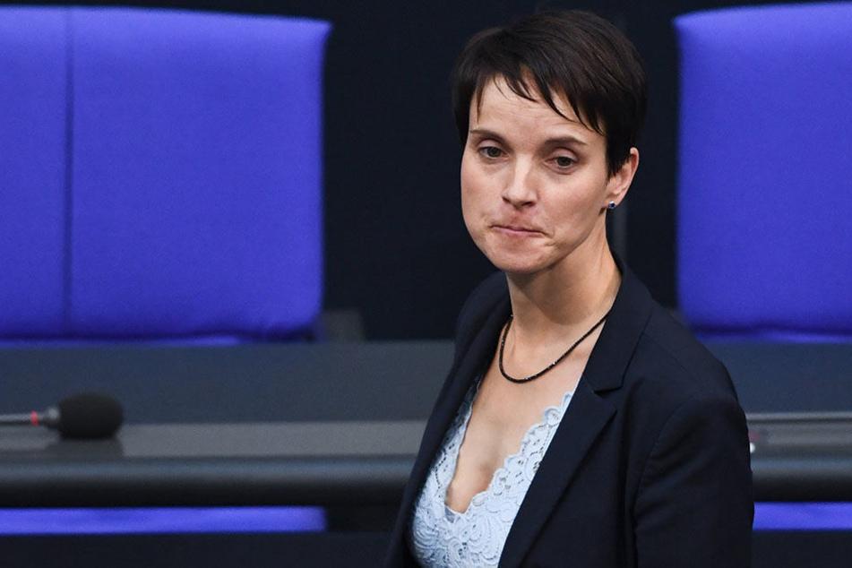Frauke Petry und die AfD haben Zoff wegen Markens- und Namensrechten.