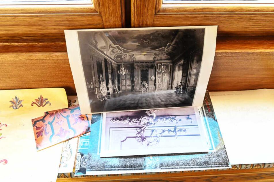Unter anderem anhand historischer Fotos, das älteste von 1868, hat Müller die Verzierungen rekonstruiert.