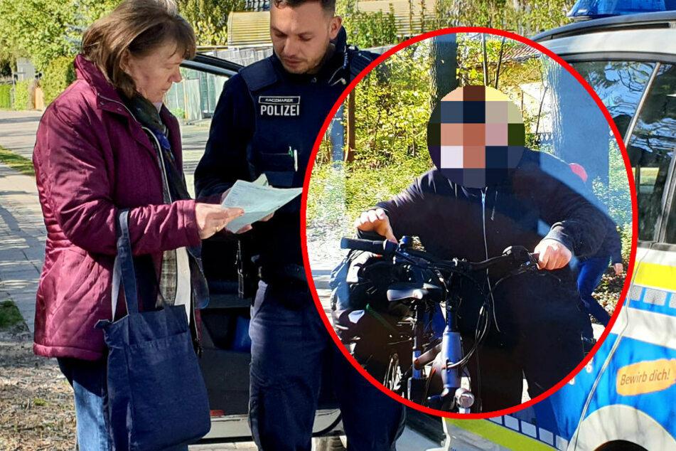 Berlin: Rüpel-Radler brettert Frau ins Auto, flüchtet und geht dann auf Zeuge los