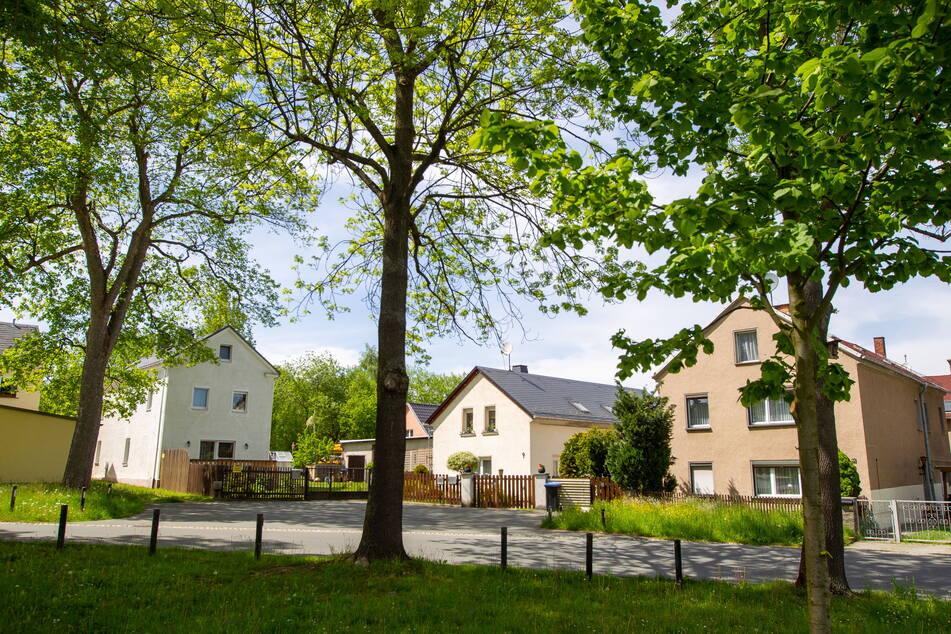 Gestörte Idylle in Plauen: Auch in der Straße Althaselbrunn stiegen Einbrecher in ein Haus ein, während die Bewohner schliefen.