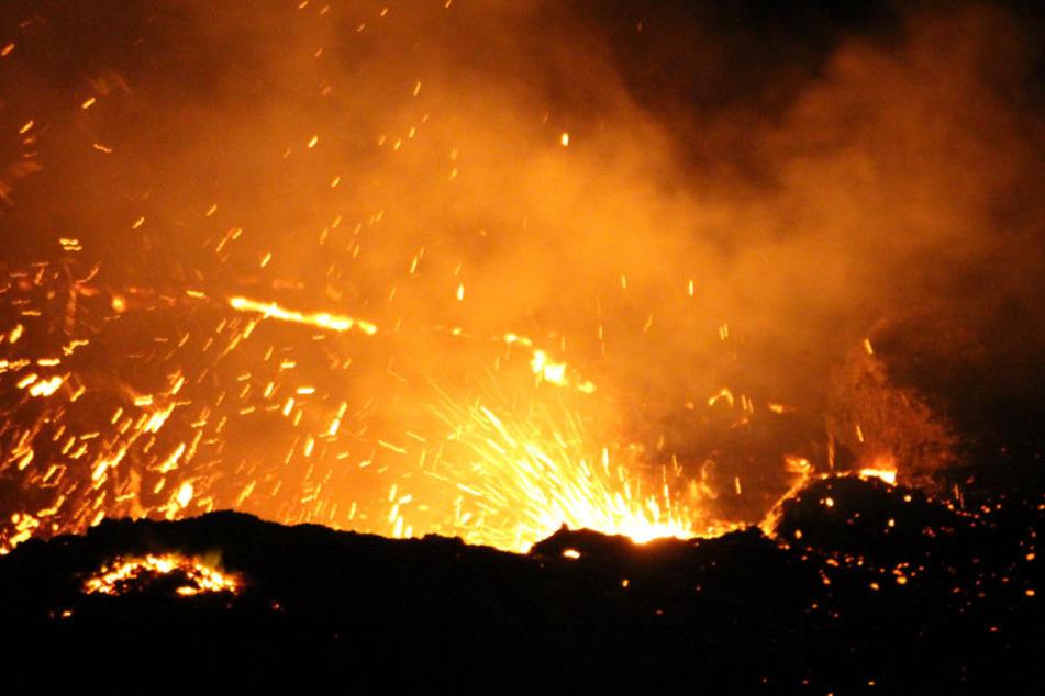 Der Vulkan Erta Ale. Ein deutscher Tourist aus Aalen kam hier bei einem Überfall ums Leben. (Archivbild)
