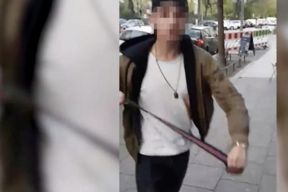 Nach Attacke auf Kippa-Träger: Verurteilter Gürtel-Schläger (19) fordert Haftentschädigung