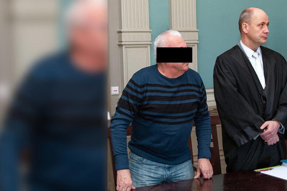Viermal missbrauchte Rentner Lothar H. (64) seine hilflose Stiefenkelin.