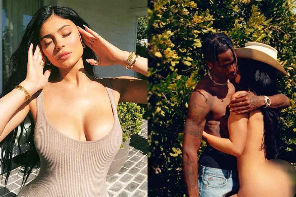 Kylie Jenner zieht sich für den Playboy aus und postet schonmal Nackt-Foto
