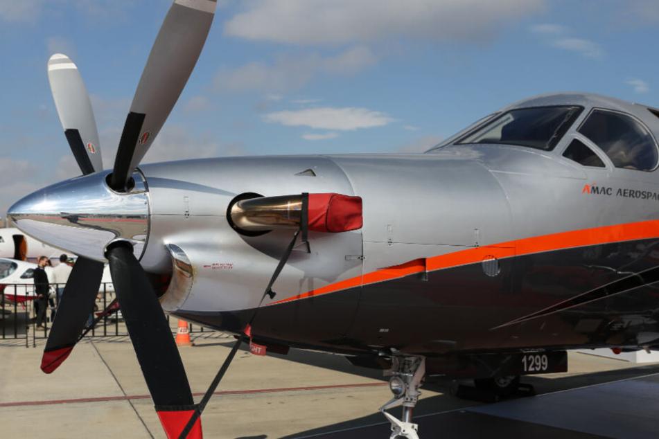 Ein Flugzeug des Typs Pilatus PC-12 ist in South Dakota abgestürzt. (Symbolbild)