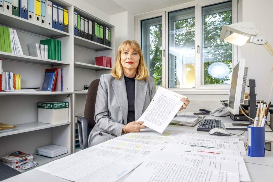 Integrationsministerin Petra Köpping .