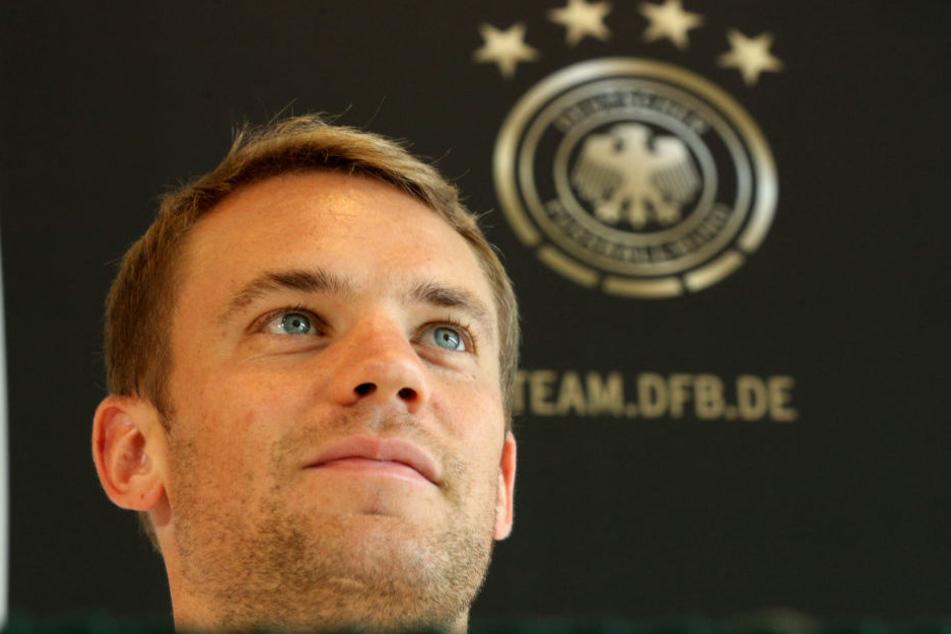 Manuel Neuer soll bei der Fußball-WM in Russland eine wichtige Stütze sein.