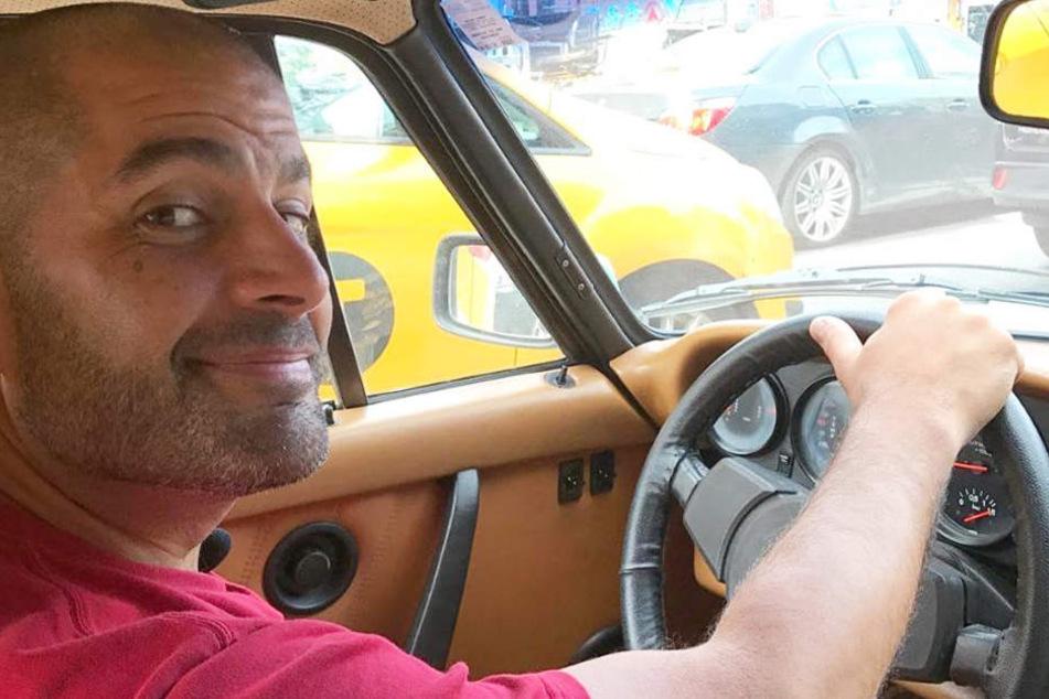 """Top Gear""-Moderator Chris Harris war in einen Unfall verwickelt."