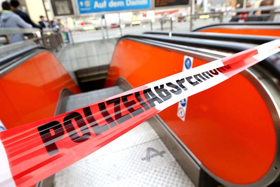 Die U-Bahn-Haltestelle im Stadtteil Meiderich wurde gesperrt.