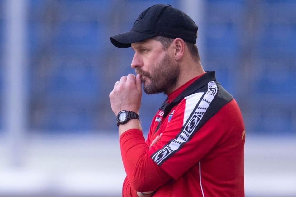 """SCP-Coach Steffen Baumgart will gegen den HSV """"etwas zählbares mitnehmen""""."""