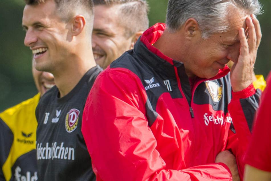 Philip Heise (li.) und Uwe Neuhaus werden auch weiterhin gemeinsam lachen.