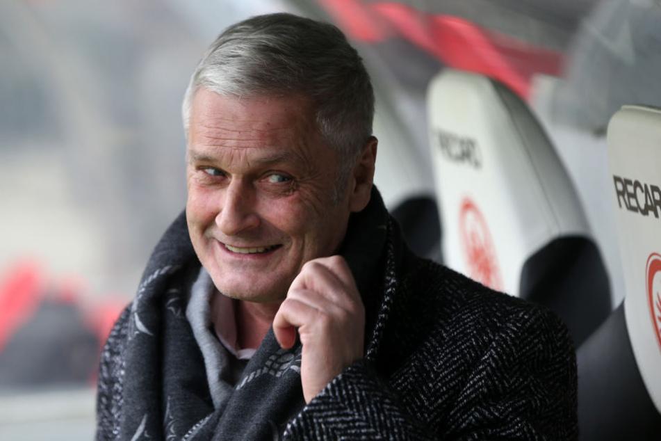 Rückkehrer: Armin Veh, neuer FC-Boss, führte die Eintracht 2013 als Trainer in die Europa League.