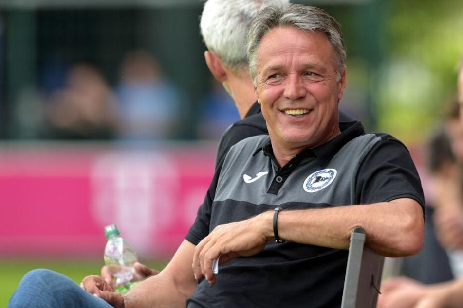 Uwe Neuhaus ist von Fabian Klos als Kapitän überzeugt.