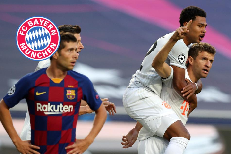 Torspektakel! FC Bayern deklassiert Barcelona und zieht ins CL-Halbfinale ein