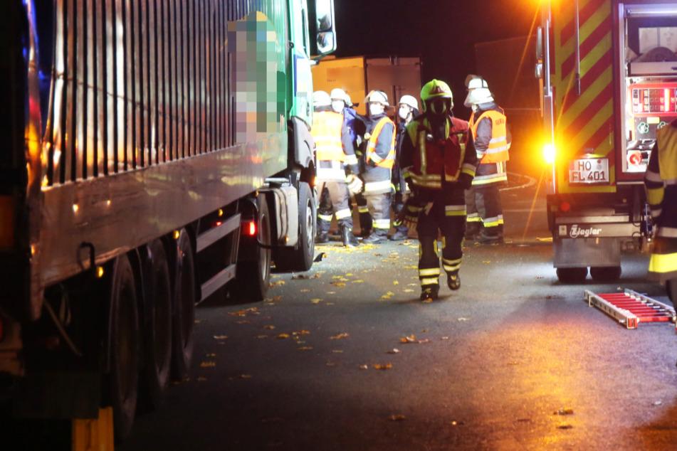 Dramatische Szenen an A9: Lastwagenfahrer eingeklemmt und reanimiert