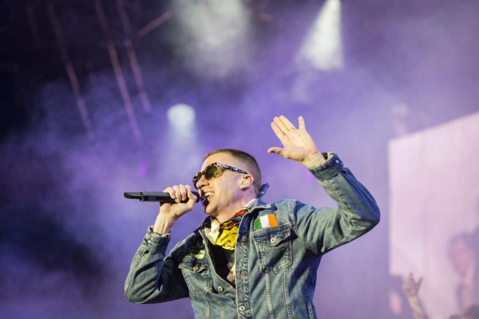 Rapper Macklemore tritt am Donnerstag in der Stadthalle Offenbach auf (Archivbild).