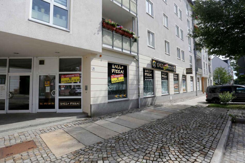 """Hier bleibt jetzt der Ofen kalt: """"Hallo Pizza"""" schloss seine Filiale an der Matthesstraße."""