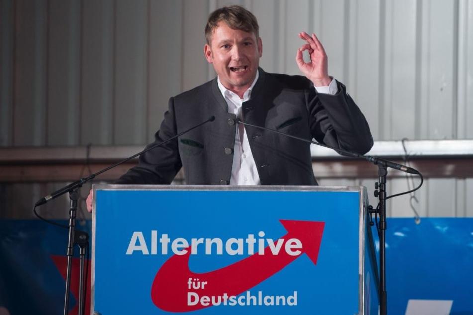 Sachsen-Anhalts AfD-Chef André Poggenburg.