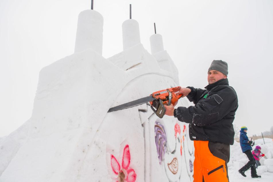 Marco Gruner (40) organisierte die Ausstellung.