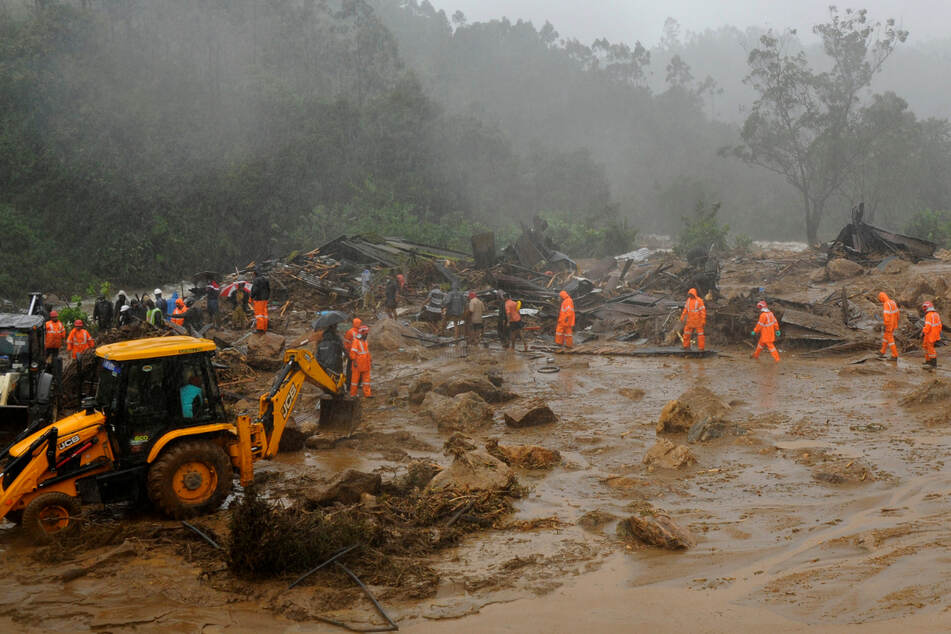 Wegen heftigem Monsun-Regen: Mindestens 20 Tote nach Erdrutsch