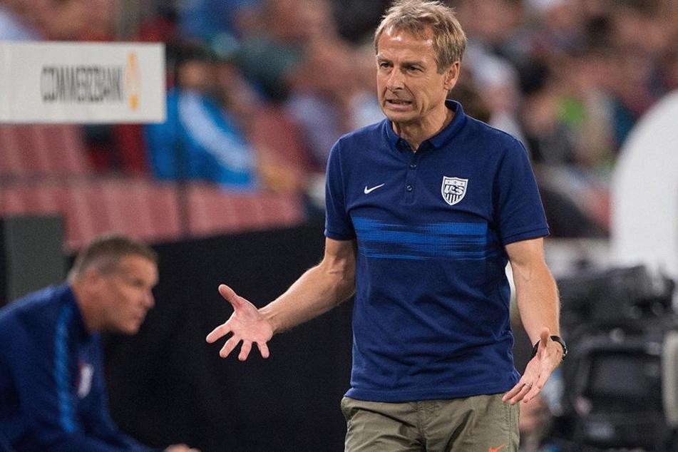 Jürgen Klinsmann muss sich nach einem neuen Job umschauen.