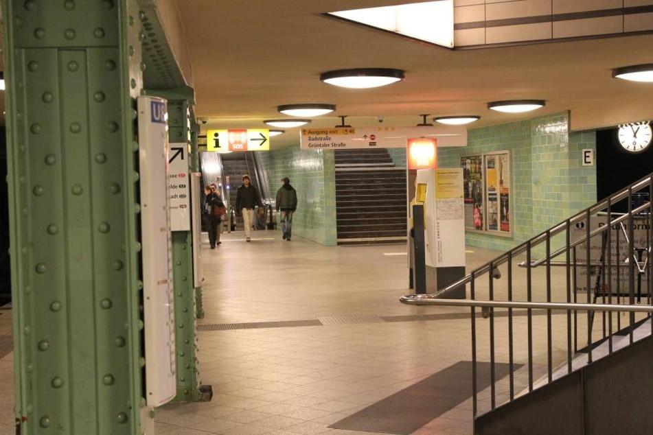Am Berliner U-Bahn-Hof Gesundbrunnen wurden die drei Männer brutal angegriffen.