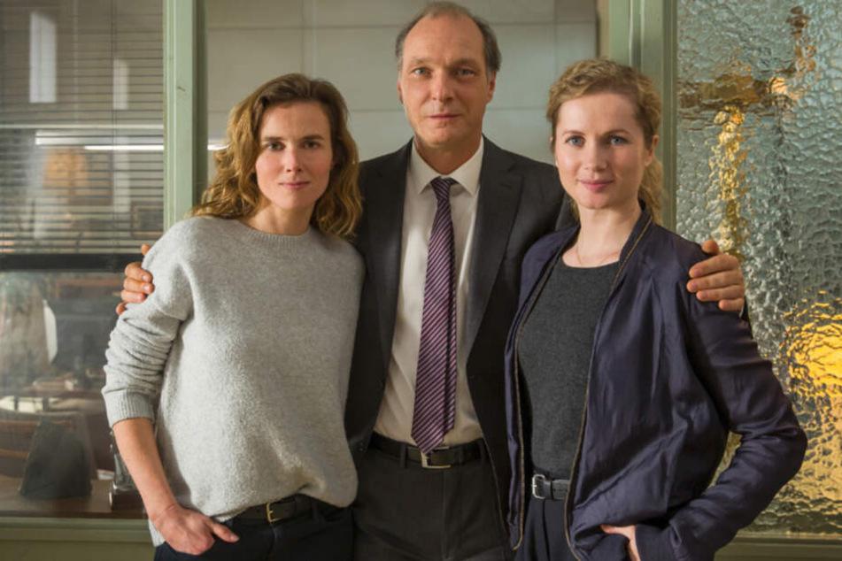 """Gorniak, Schnabel und Winkler: Das Dresdner """"Tatort""""-Team löst zum neunten Mal einen Kriminalfall."""
