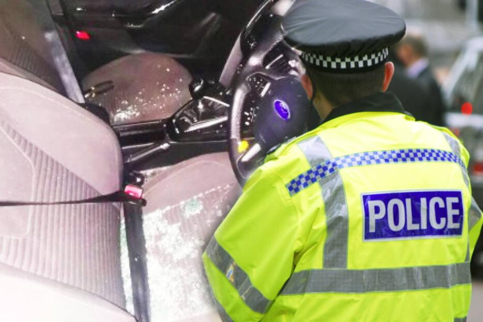 Autodieb schließt sich in geklautem Wagen ein: Nur die Polizei kann ihm helfen!