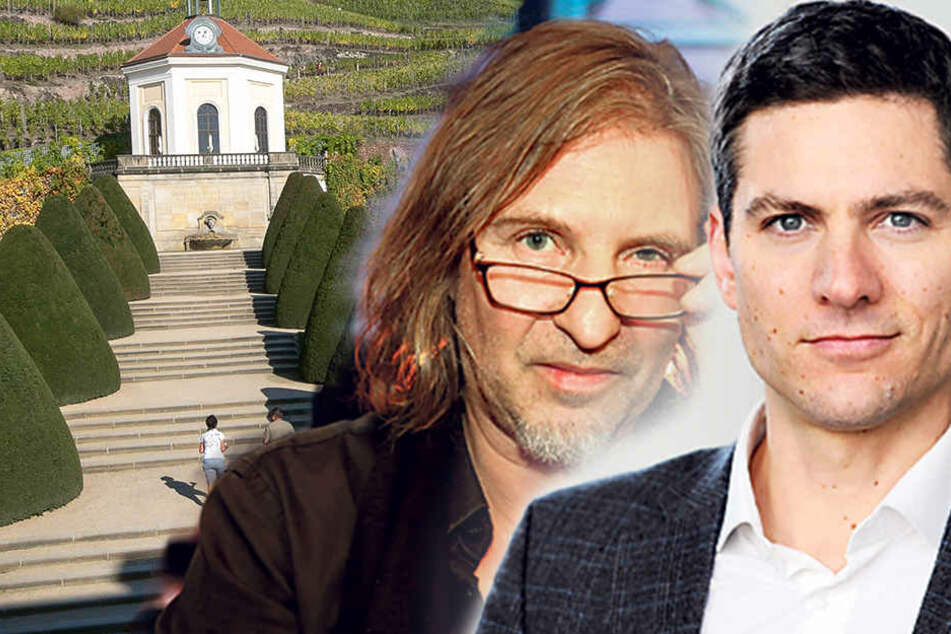 Zamperoni und Dirk Zöllner auf Schloss Wackerbarth