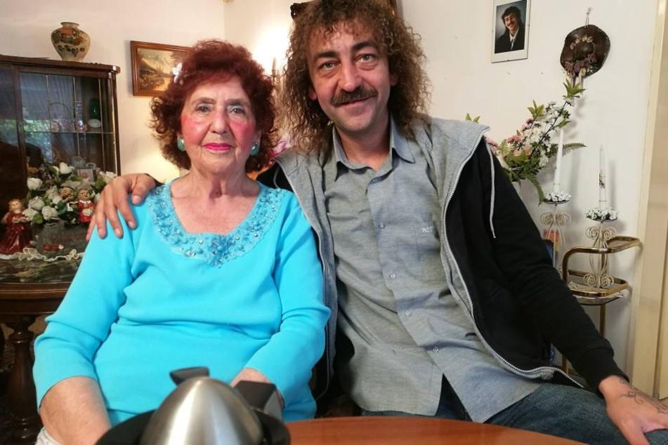 Martin und Mama Edeltraut mussten angeblich vor zehn Jahren einen schweren Schicksalschlag erleiden.