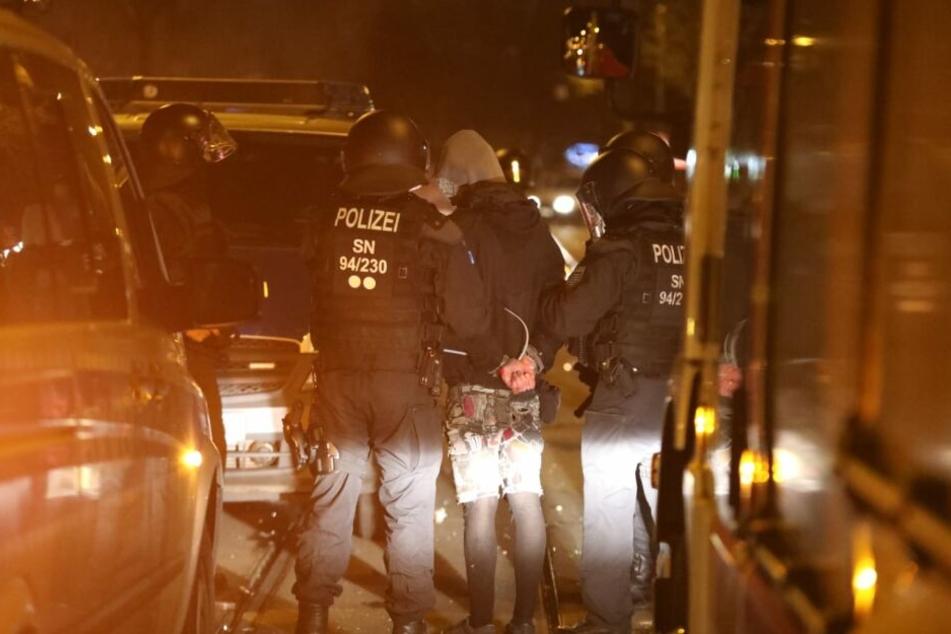In der Nacht zu Samstag wurde ein 32-Jähriger festgenommen.