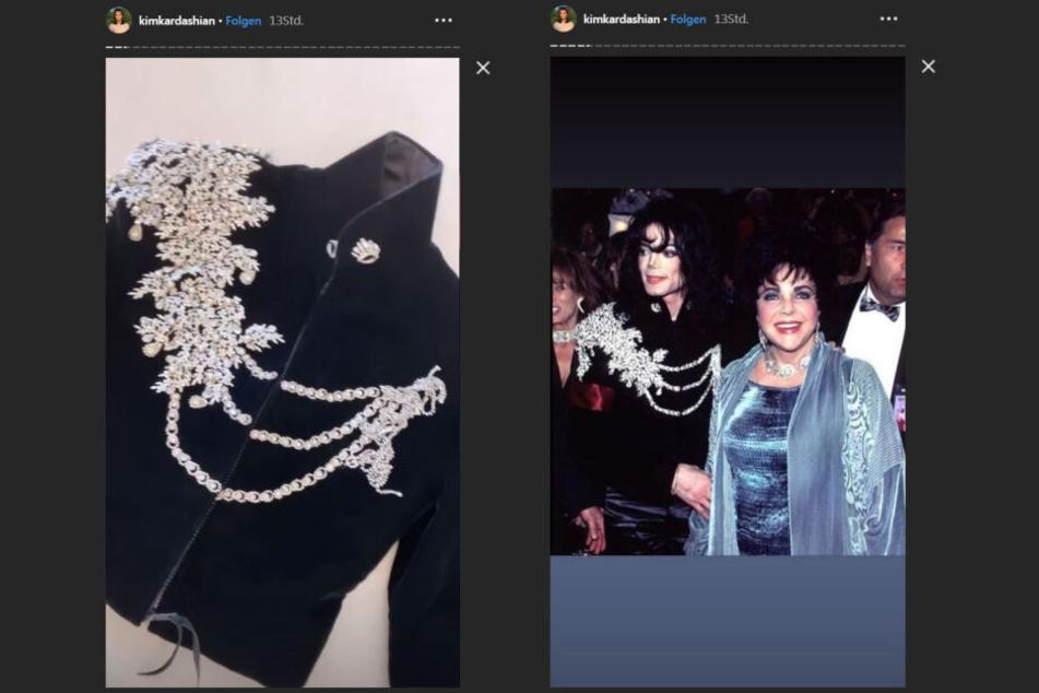 Die Jacke, die Michael Jackson 1997 trug, wird man jetzt an North West sehen können.