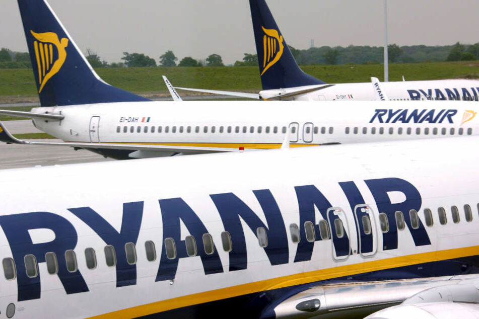 Alle Flüge von Ryanair starten, obwohl die Piloten streiken