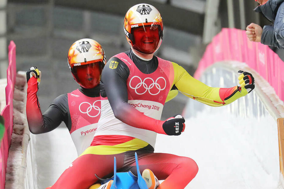 Für Toni Eggert und Sascha Benecken reichte es für den 3. Platz und damit für die Bronze-Medaille.