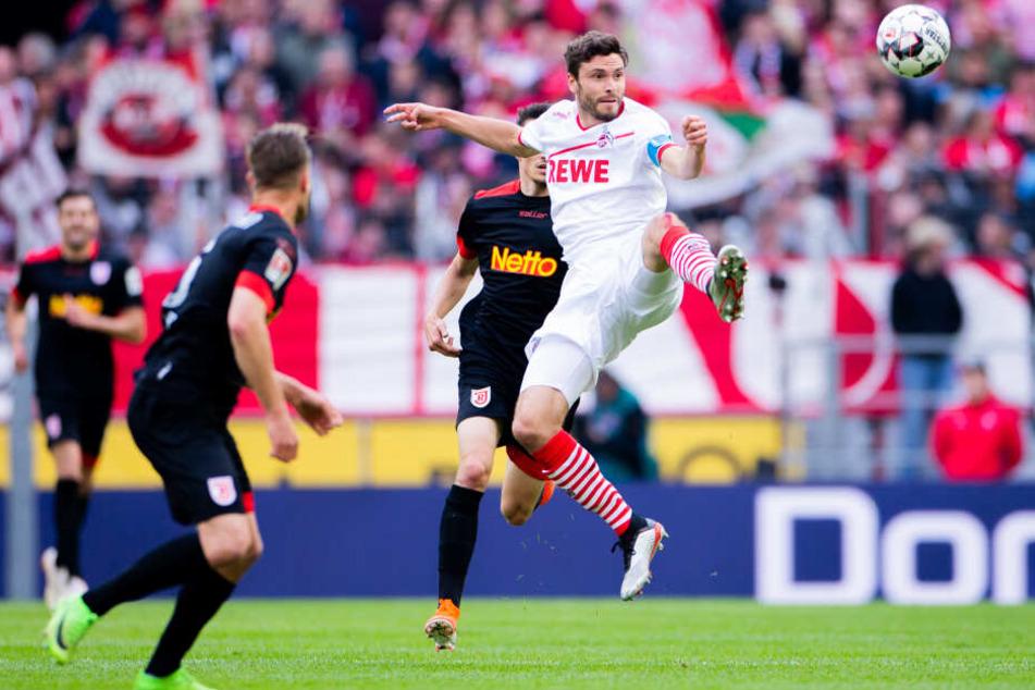 Jonas Hector traf zweimal für den 1. FC Köln.