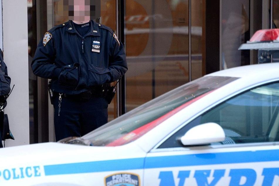 Die Polizisten staunten nicht schlecht, als sie am Tatort ankamen...