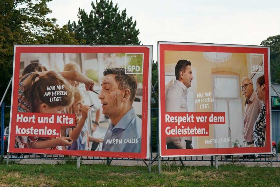 Welche Partei-Plakate der 75-Jährige aufhängte, ist nicht bekannt. (Symbolbild)