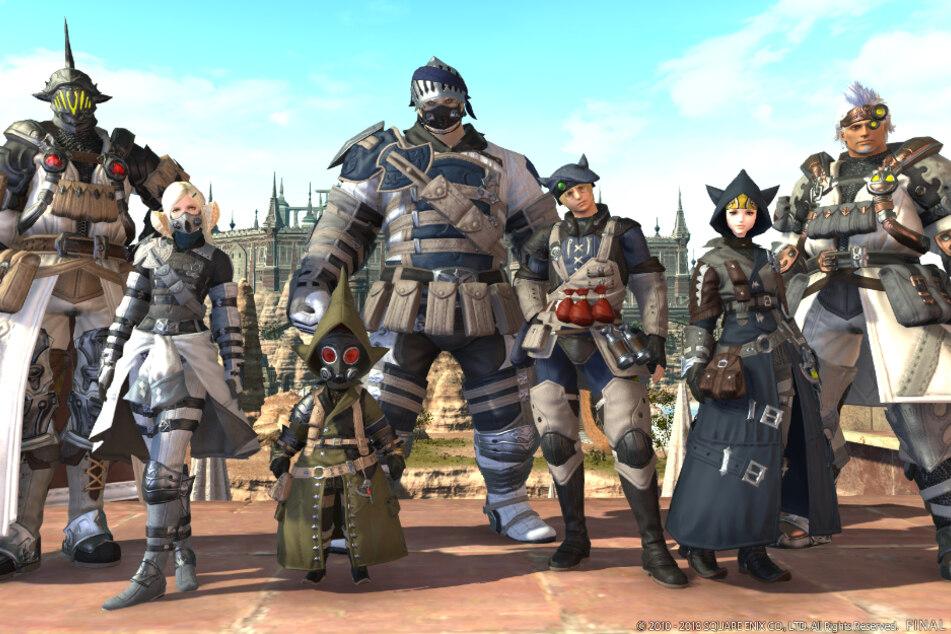 """Der neue """"Final Fantasy XIV""""-Raid im Test: So fühlt man sich also als Noob"""