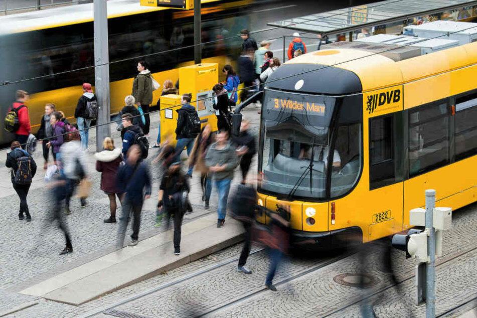 Rekord in Dresden! Noch nie fuhren so viele Leute Bus und Bahn