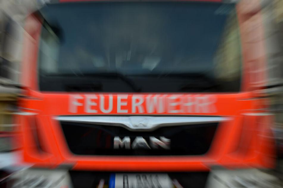 Die Feuerwehr musste ausrücken, um den Jungen aus seiner misslichen Lage zu befreien. (Symbolbild).