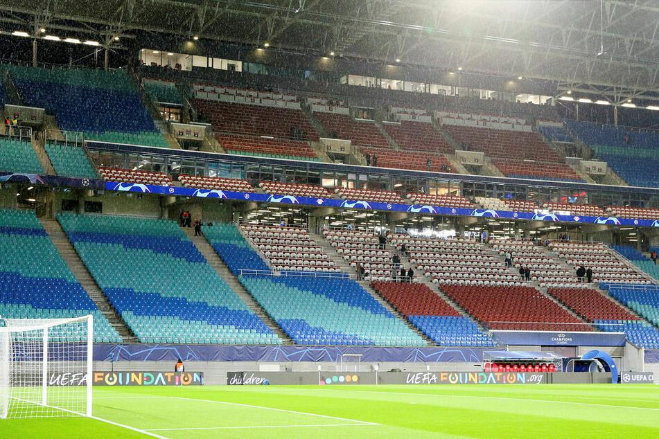 Die Red Bull Arena muss - wie alle anderen Stadien in den oberen Ligen - eine Zwangspause einliegen.